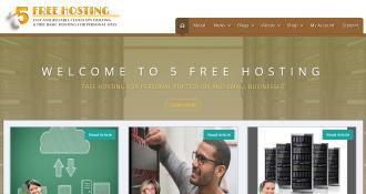 海外無料サーバー 5 free hosting