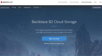 B2 Cloud Storage